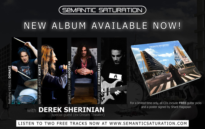 Semantic Saturation - New Album Available Now