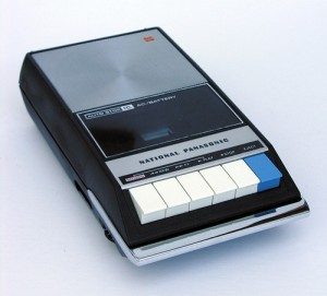 National Panasonic Cassette Player