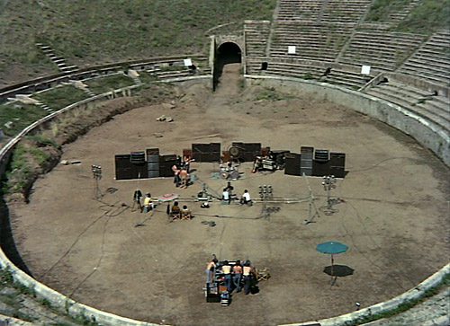 Pompeii Amphitheater - Pink Floyd - Live at Pompeii