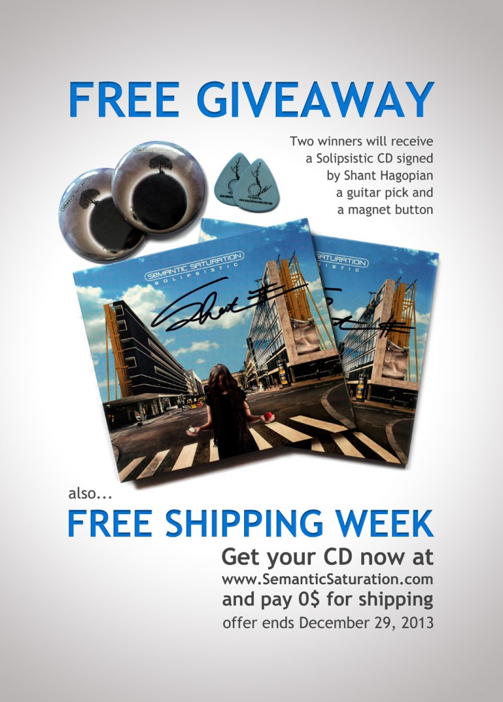 Free Givaway and Free Shipping Week