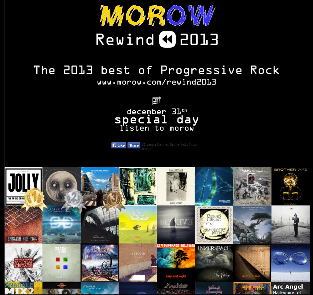 Morow - The best progressive rock albums in 2013