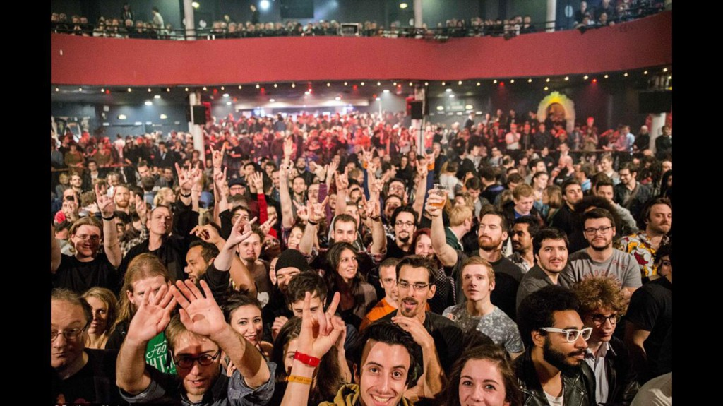 The Bataclan crowd, minutes before the attacks